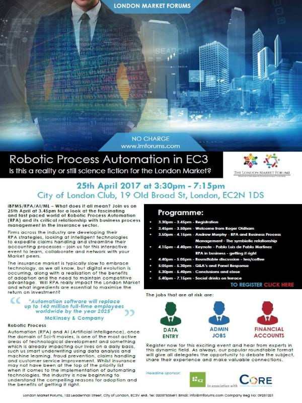 Robotic Process Automation in EC3