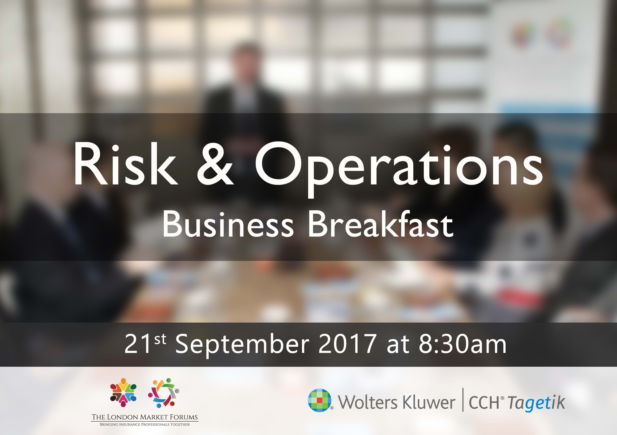 Risk and Operations Event