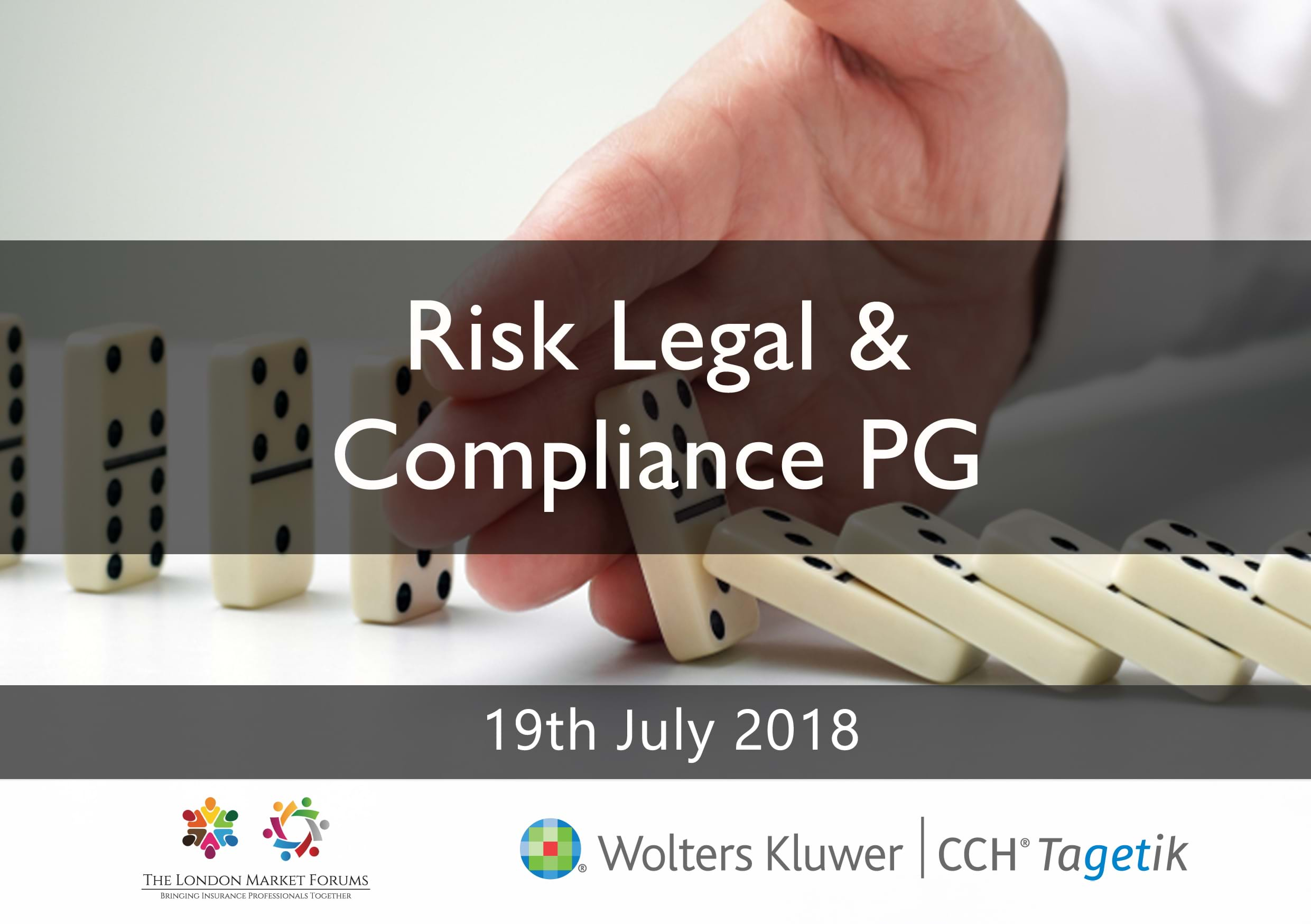 Risk Legal & Compliance PG - 19th July 2018