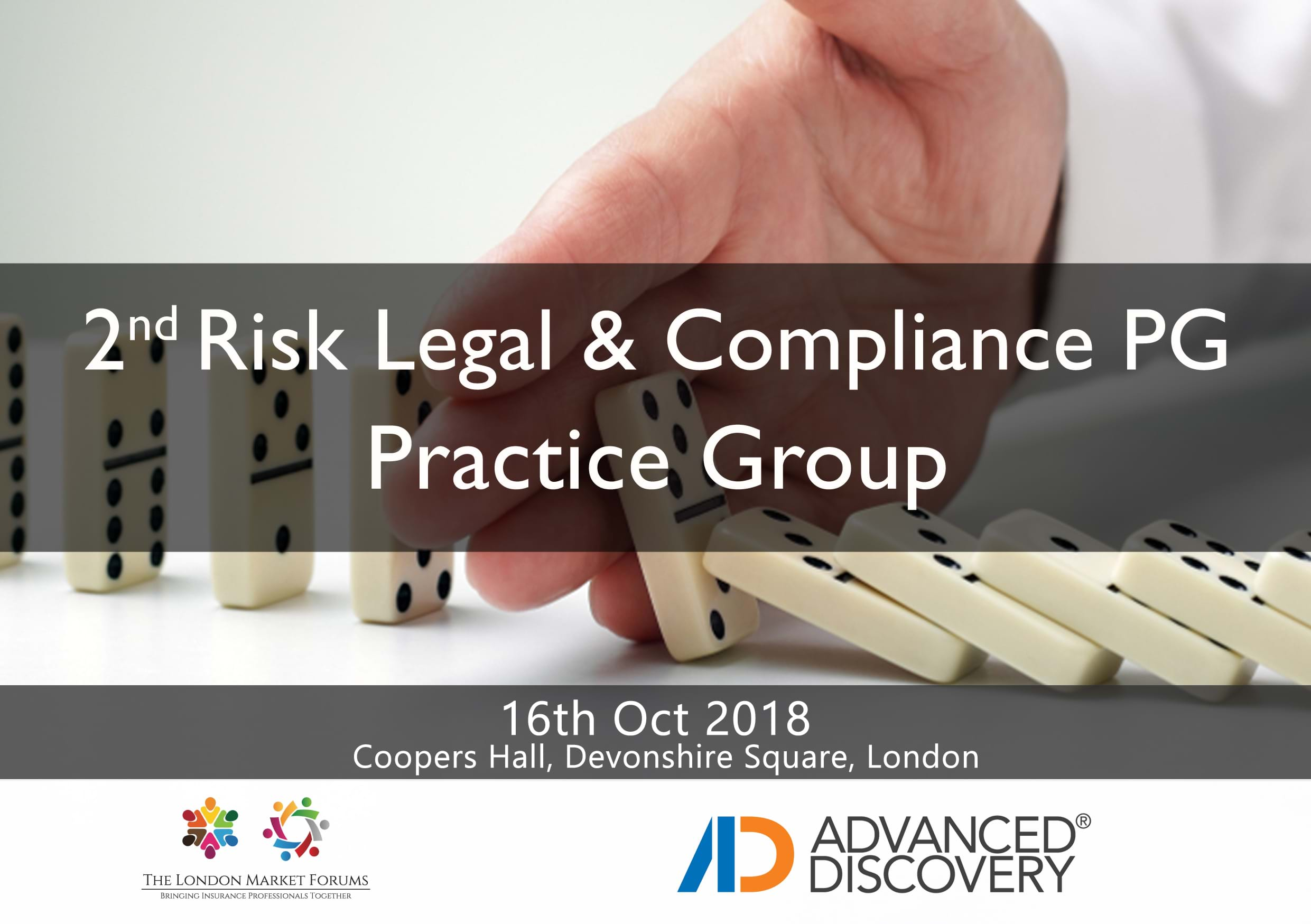 2nd Risk, Legal & Compliance Practice Group- 16th October 2018