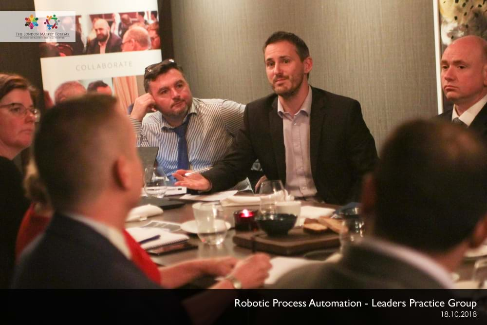 Robotic Process Automation Leaders Practice Group