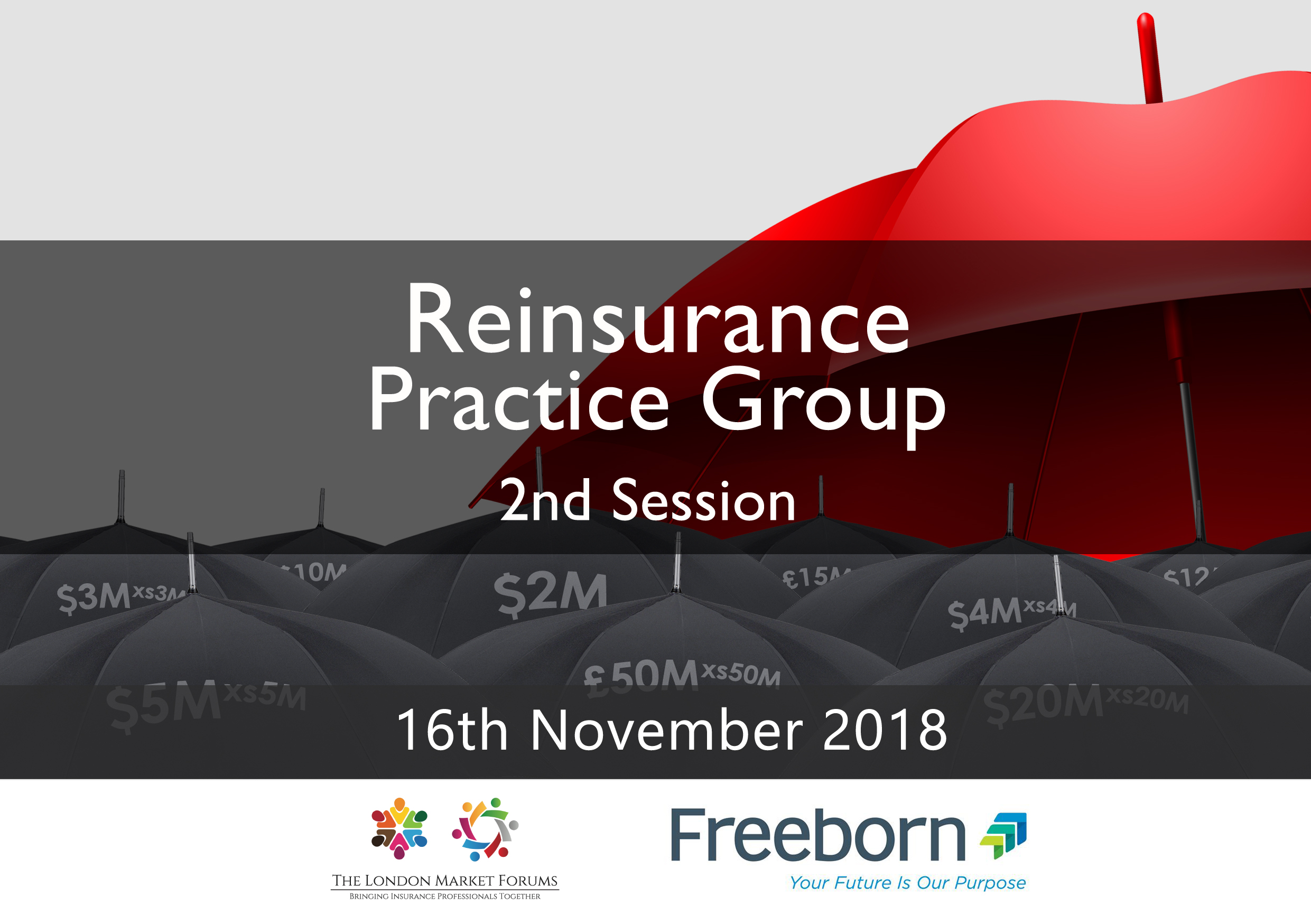 Reinsurance Practice Group - Second Session - 16th November 2018