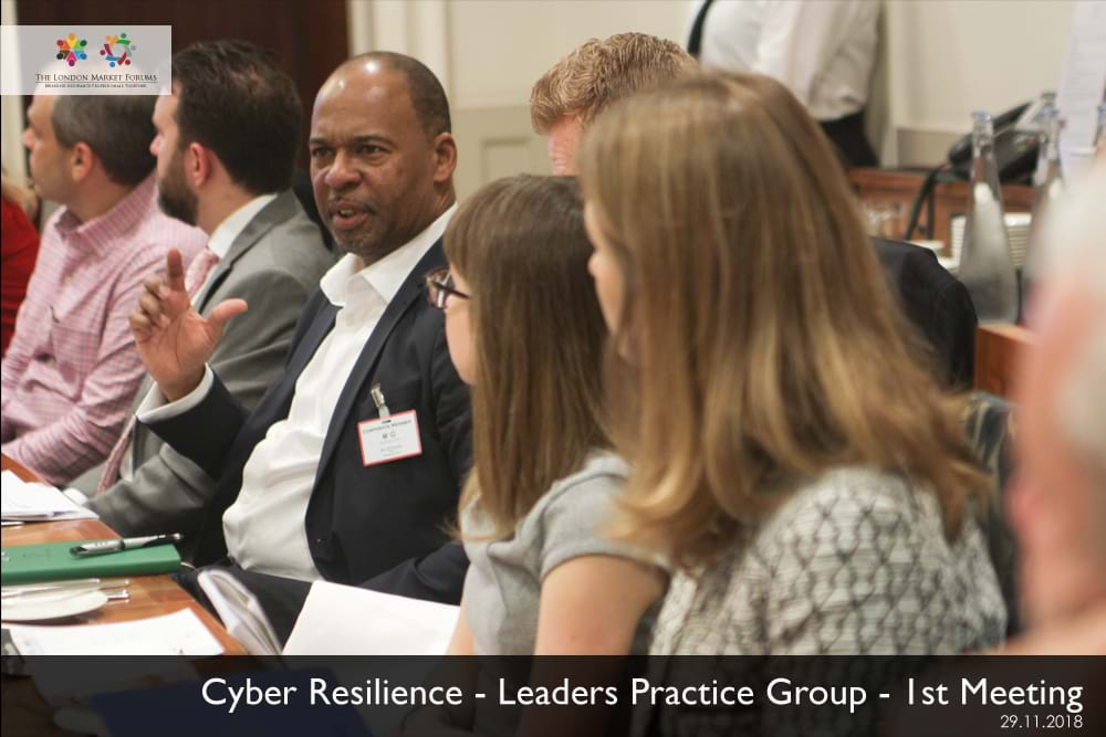 Cyber Resilience Leaders Practice Group