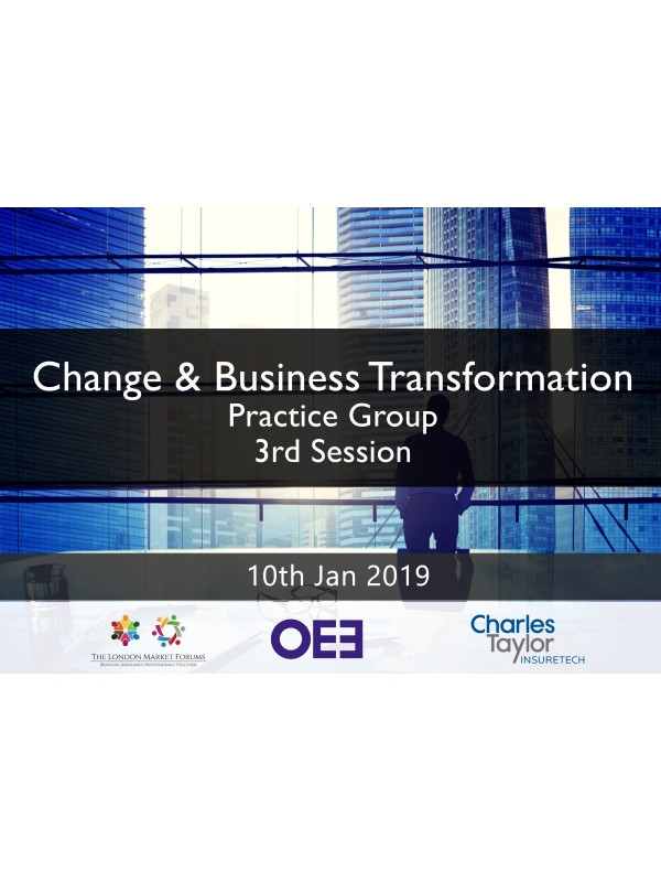 Change & Business Transformation Leaders Practice Group