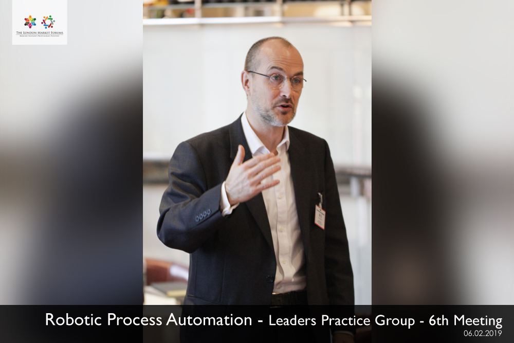 Robotic Process Automation Practice Group