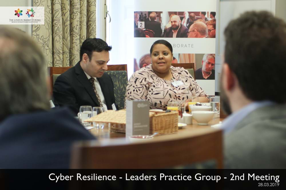 Cyber Resillience Leaders Practice Group