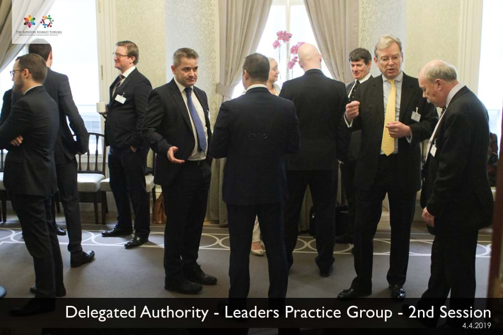 Delegated Authority Leaders Practice Groupp
