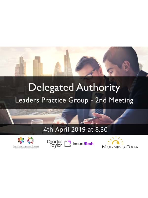 Delegated Authroity Leaders Practice Group