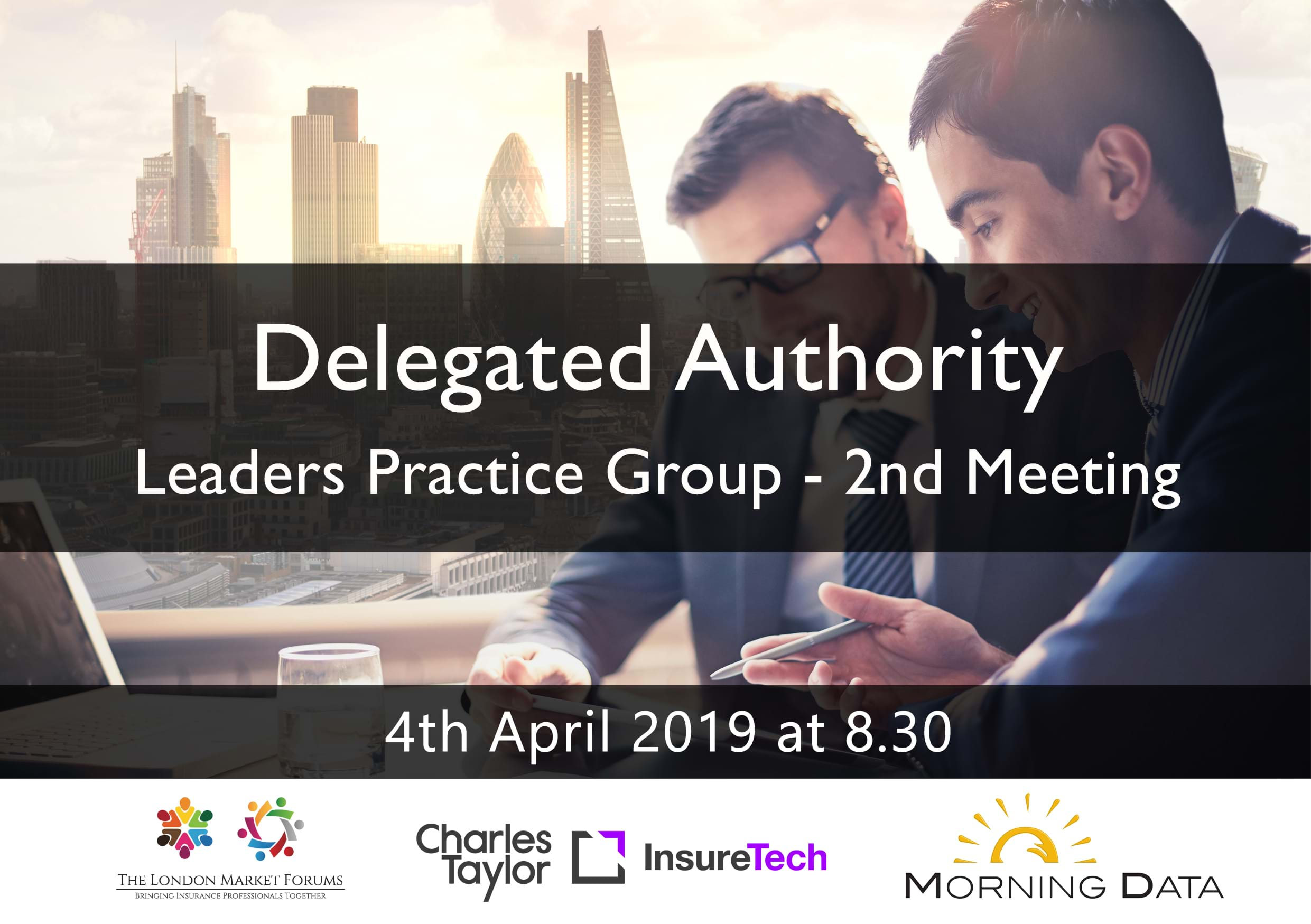 Delegated Authority Leaders Practice Group - 4th April 2019