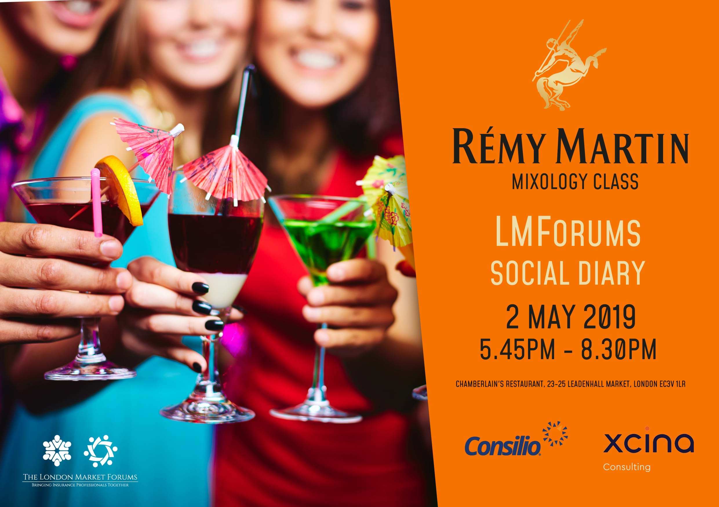 Remy Martin Mixology Event - 2nd May 2019
