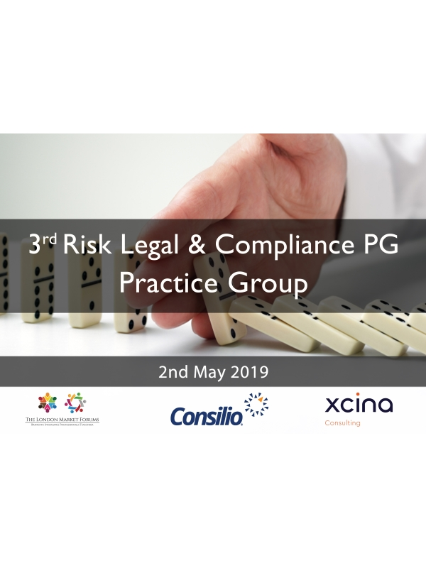 Risk Legal & Compliance Leaders Practice Group