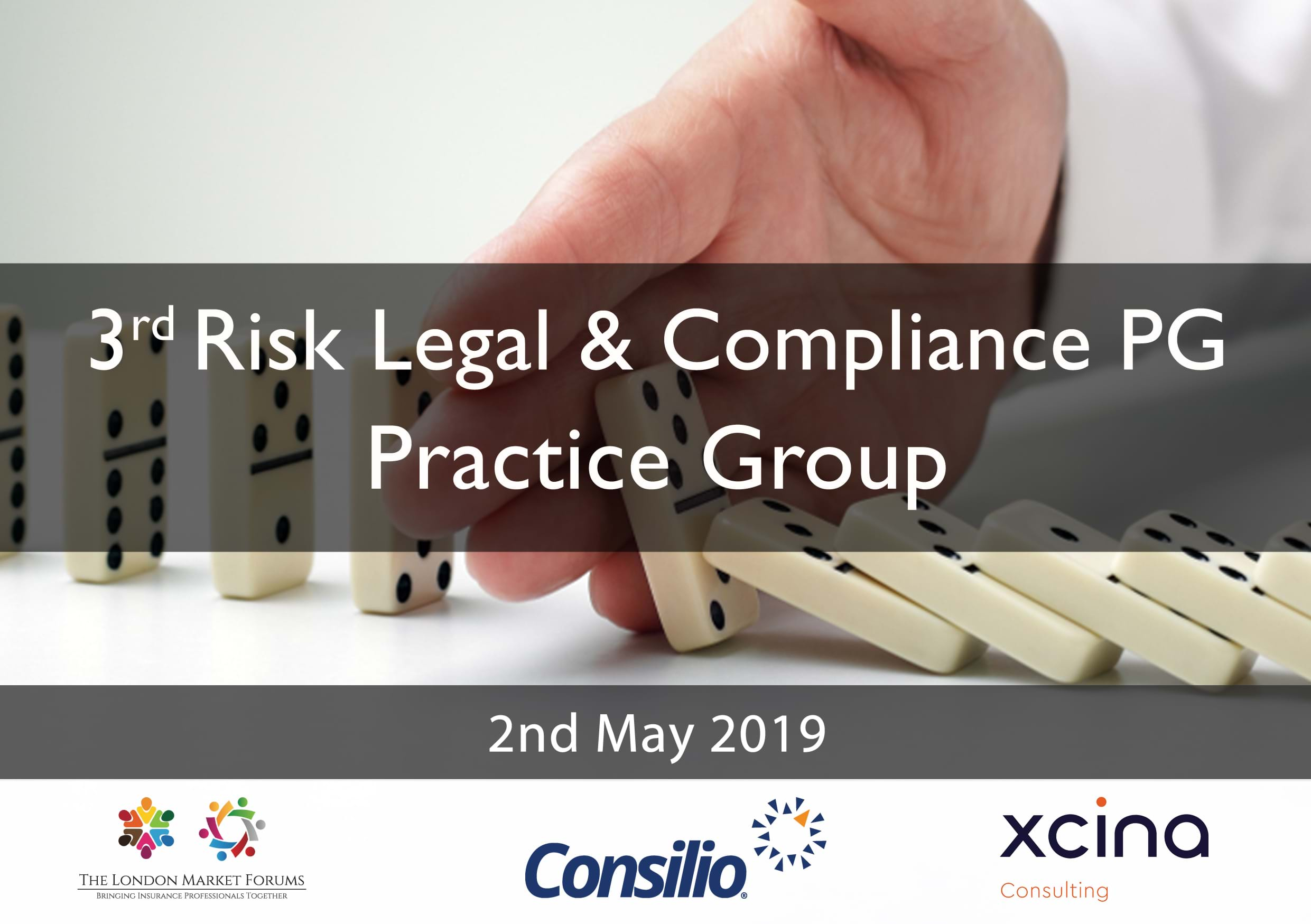 Risk Legal & Compliance Practice Group - 2nd May 2019
