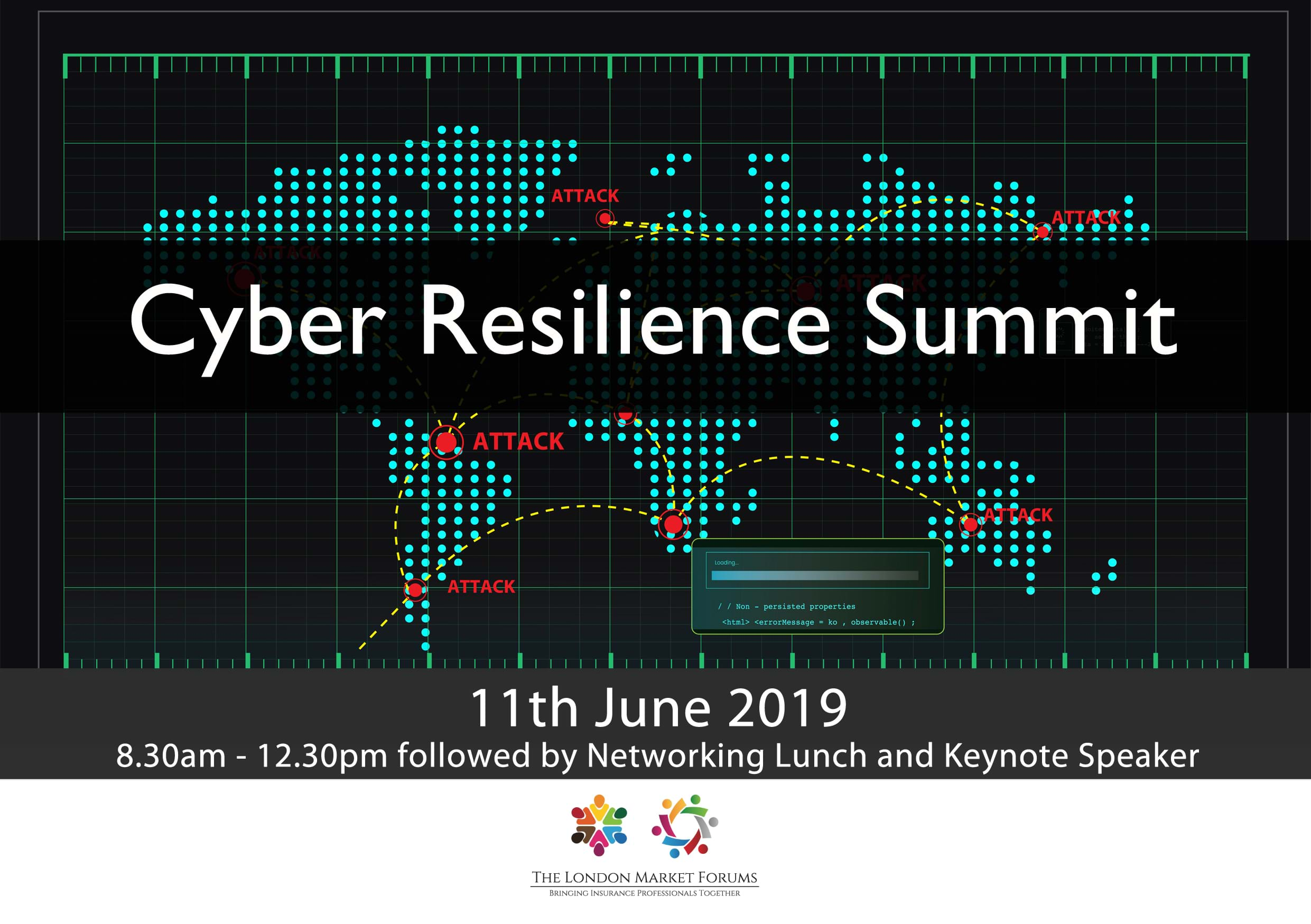 Cyber Resillience Summit - 11th June 2019