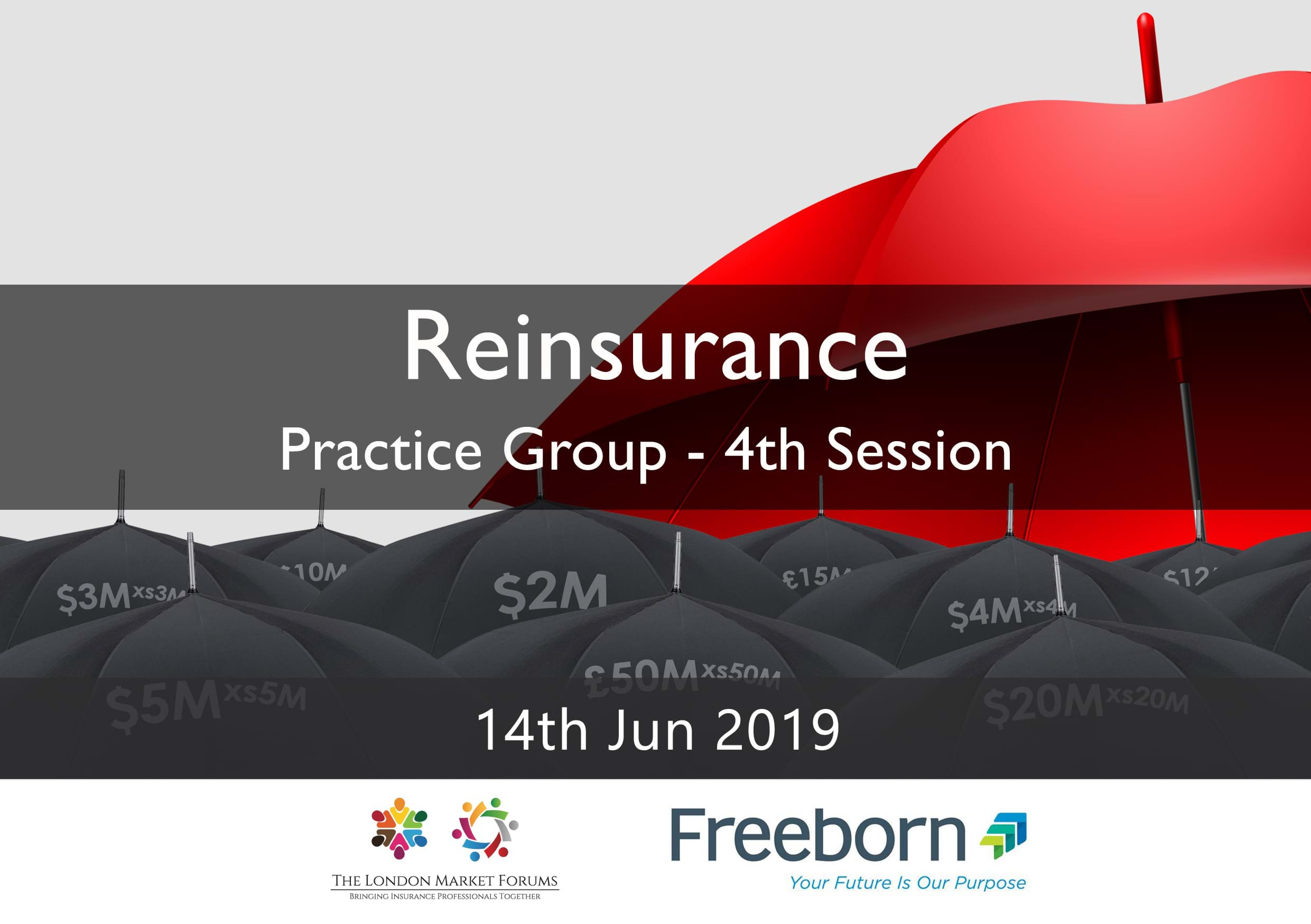 Reinsurance Practice Group - 14th June 2019