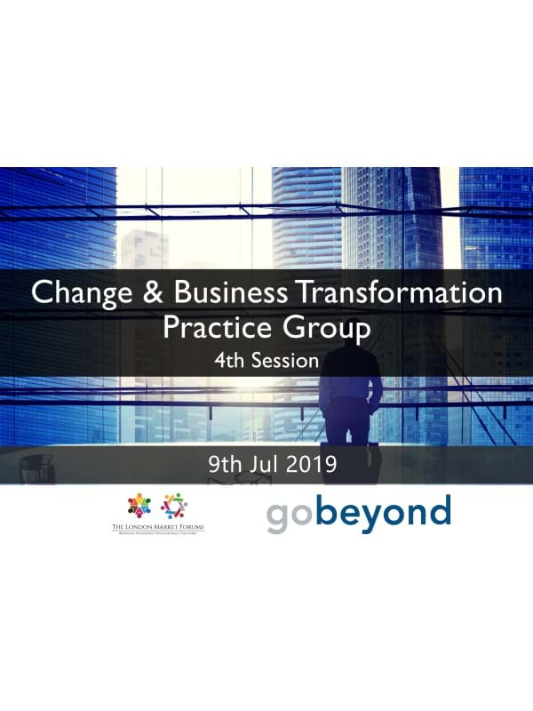 Change & Transformation Practice Group