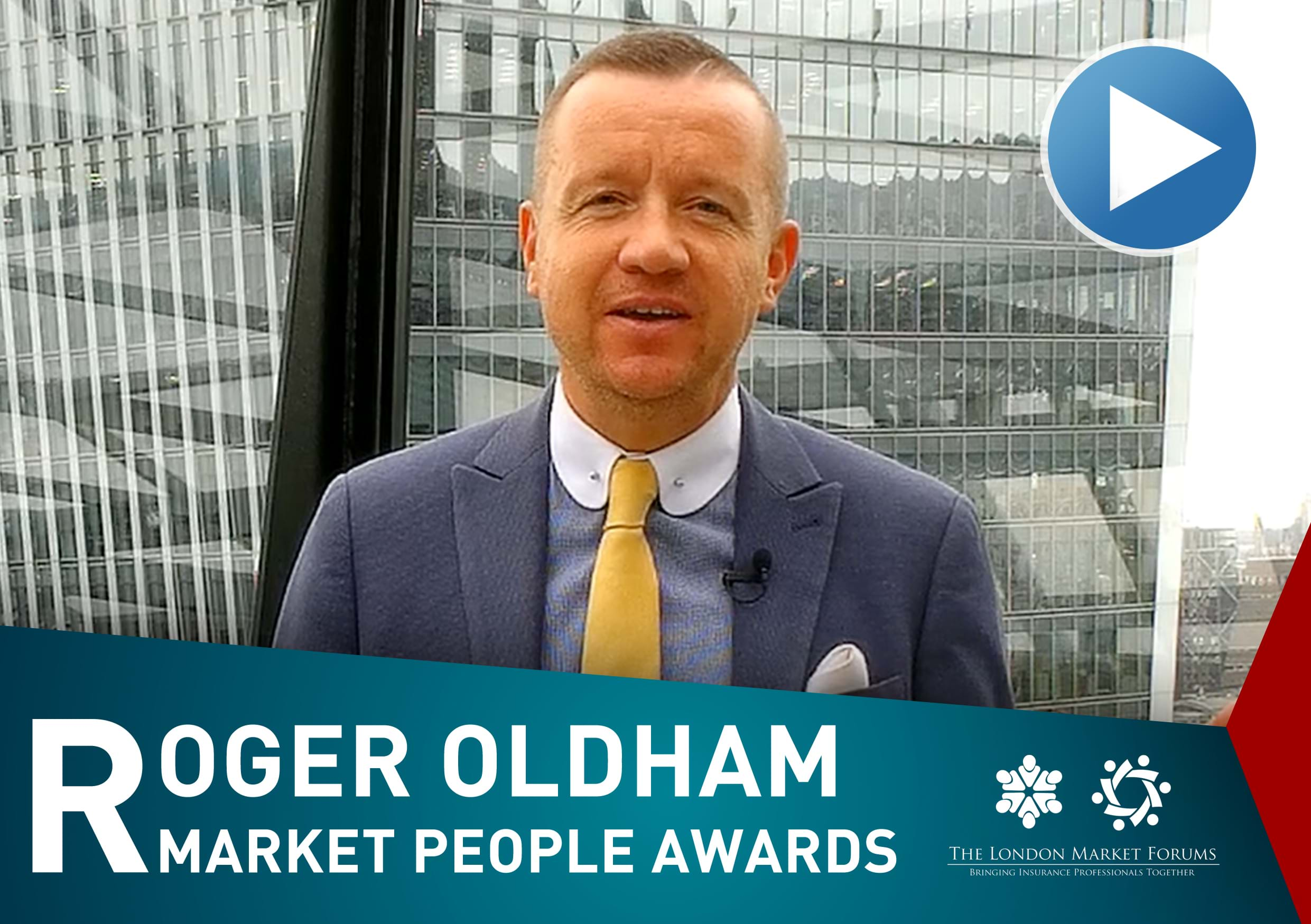 Roger Oldham on the Market People Awards 2019