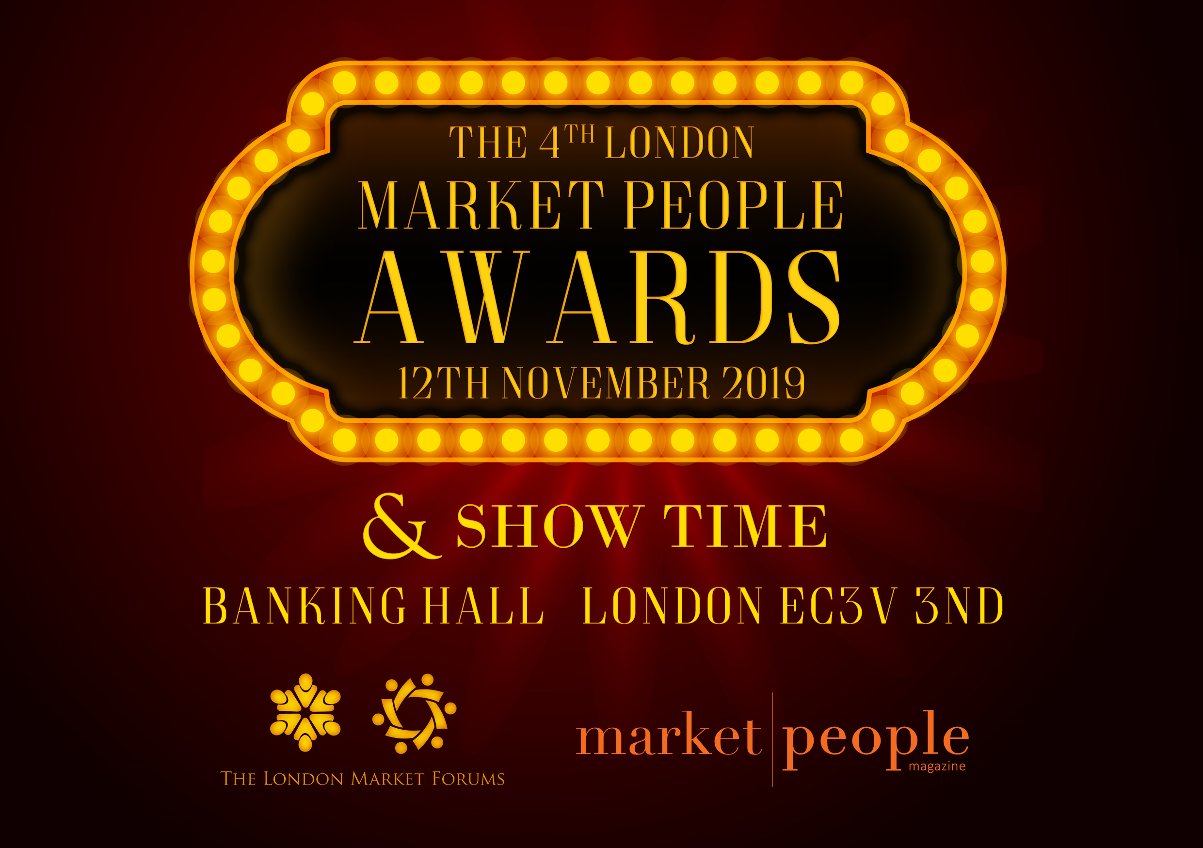 The 4th London Market People Awards - 12th November 2019