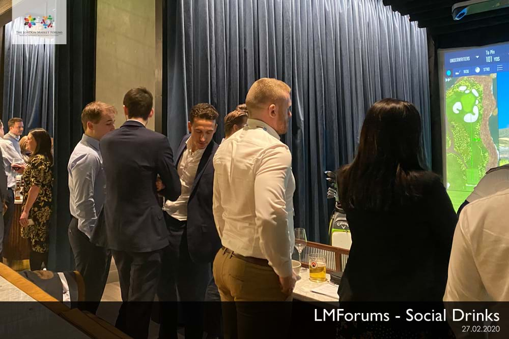 Social Drinks & Networking