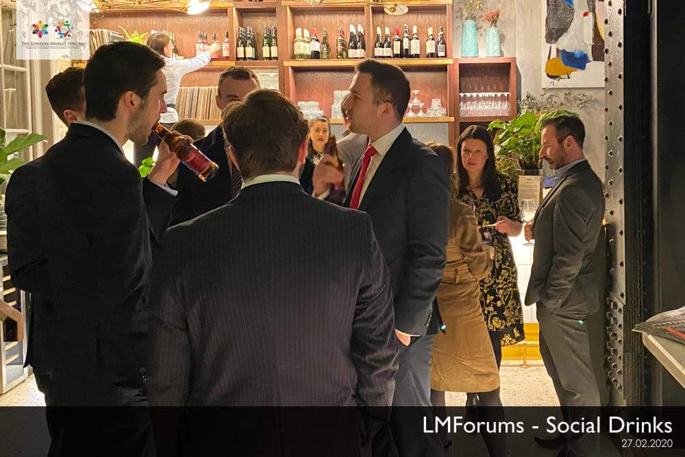 Social Drinks & Networkingp